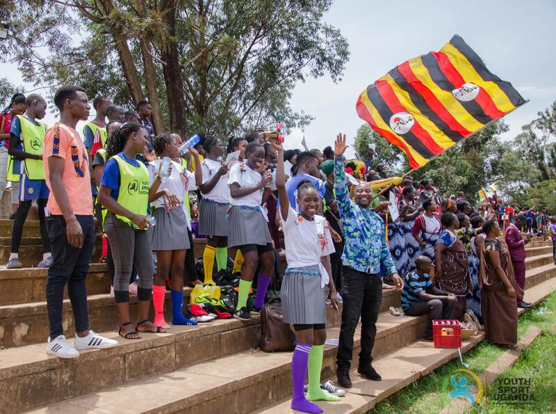 fußballturnier bei youth sports uganda