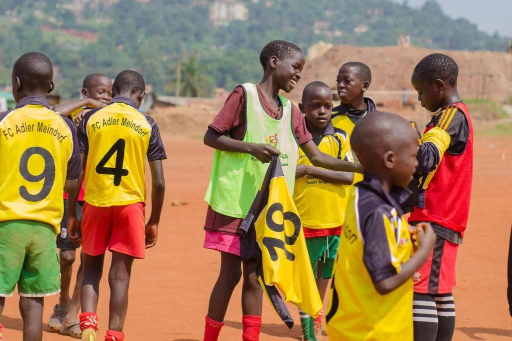 Kids in Kampala, Uganda